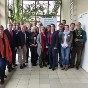 Aktive Akteure im Bereich der Ökolandbau-Modellregionen
