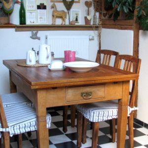 Alte Möbel setzen Akzente