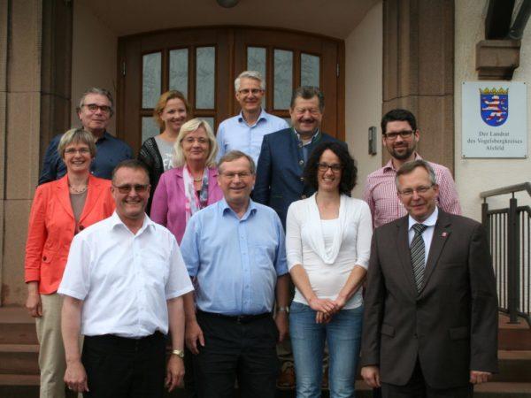 Landtagsabgeordnete von CDU und Grünen besuchen den LLH
