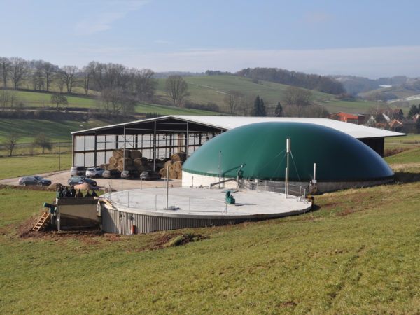 Biogas-Kleinanlage