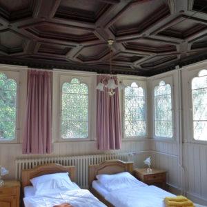 Weiteres Gästezimmer im Schloss