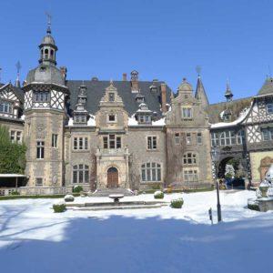 Schloss Rauischholzhausen im Winter
