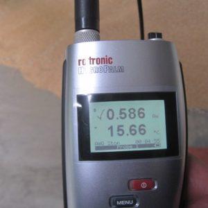 Messgerät zur Ermittlung der Lagerstabilität