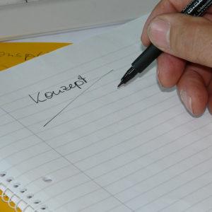 Ein klares Konzept verschafft einen Überblick über Ziele, Potentiale, Aufgaben usw. – wir unterstützen Sie!