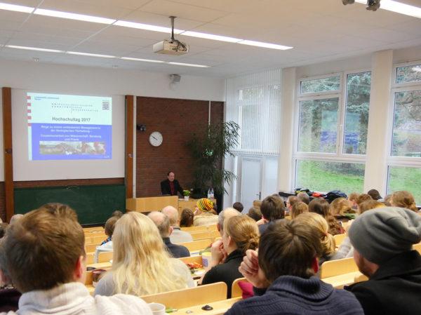 Hochschultag Alsfeld 2017 - Mittelpunkt der Vorträge ist die Tierhaltung