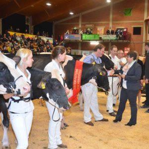 Gratulation an den Champion durch Stefanie Nagel, HMUKLV