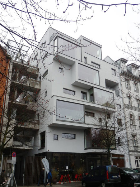 Holzhybrid-Lückenbau in Berlin