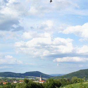 Drohne nahe Bad Zwesten