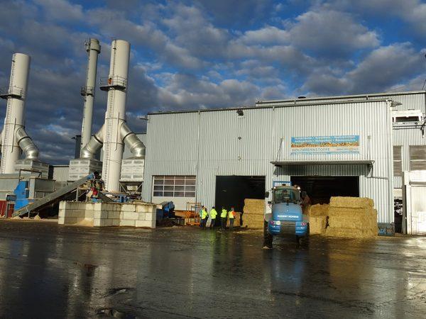Biomasseheizkraftwerk