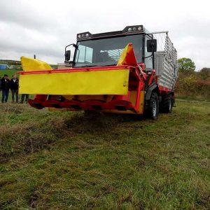 Transporter Multi T10 X im praktischen Einsatz