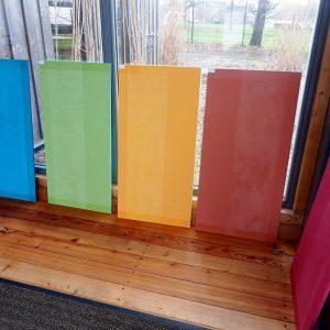 Farbenvielfalt von Lehmfarbe