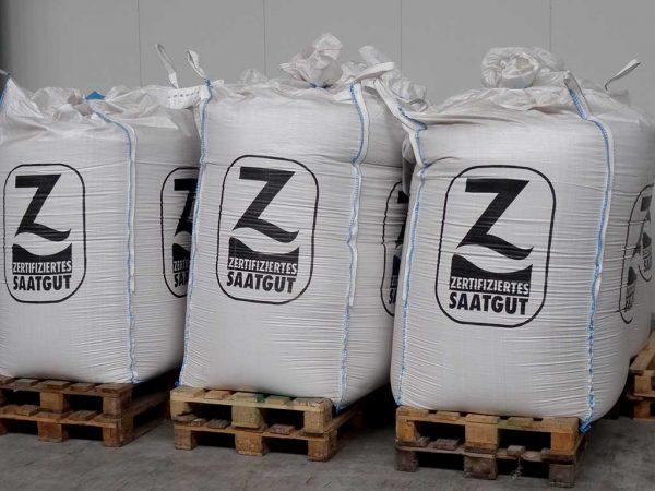 Hochwertiges Zertifiziertes Saatgut steht zum Verkauf bereit
