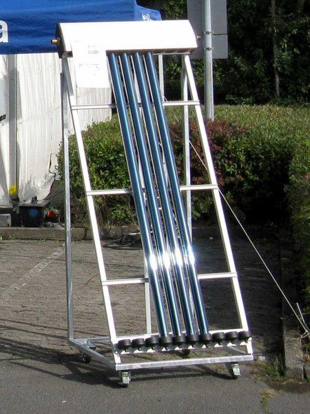 Röhrenkollektoren-Solarthermie