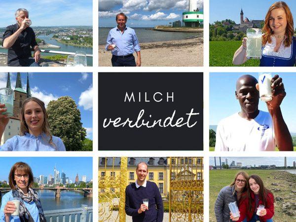Milch verbindet - Milchglas reist rund 1600 Kilometer online durch Deutschland. Rund 1600 Kilometer reist das Milchglas online durch Deutschland. Wer errät, in welcher Reihenfolge das Milchglas durch die Bundesländer gereicht wird?
