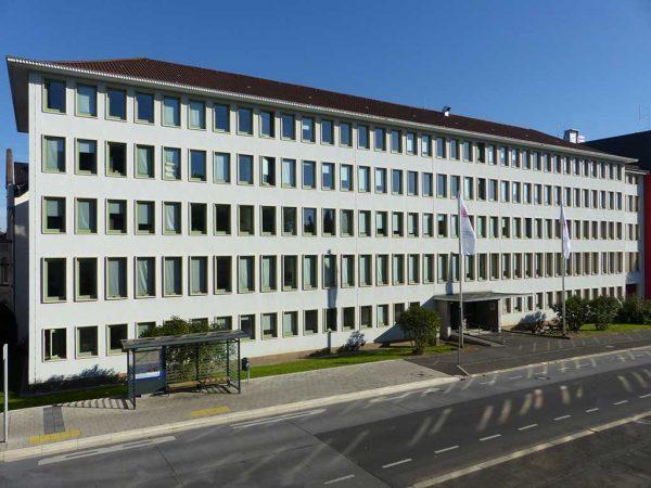 Landesbetrieb Landwirtschaft Hessen, Zentrale in Kassel