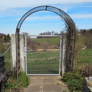 Einfriedung: In diesen Garten kommt kein Igel hinein