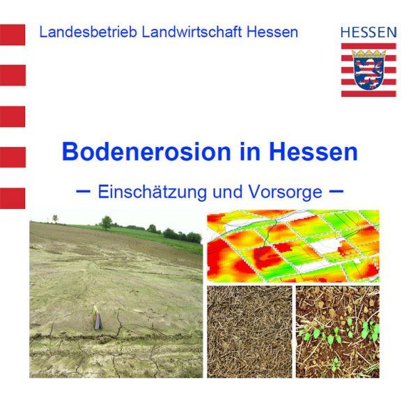 Broschüre Bodenerosion, Titelblatt