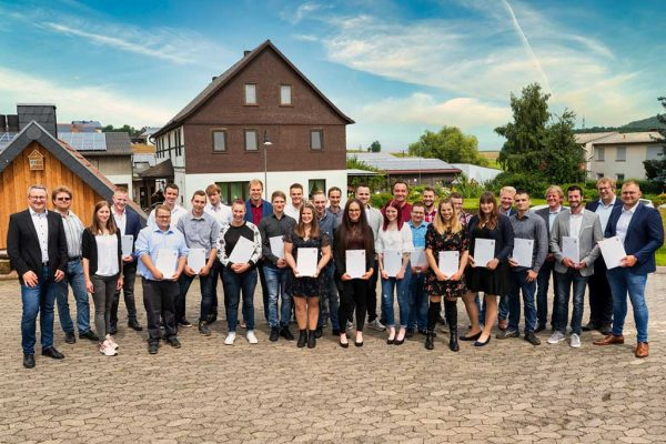 Absolventen 2021 der Fachschule für Agrarwirtschaft