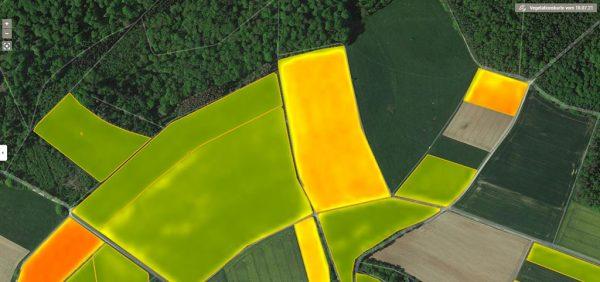 Digitales Teilflächenmanagement erlaubt auch bei heterogener Schlagstruktur eine optimal an den Boden angepasste Bewirtschaftung