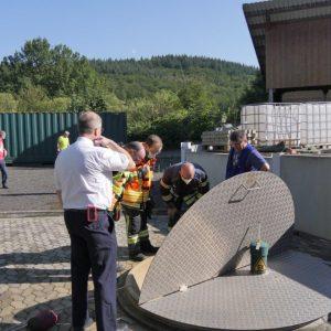 Brandschutzübung Landwirtschaftszentrum Eichhof
